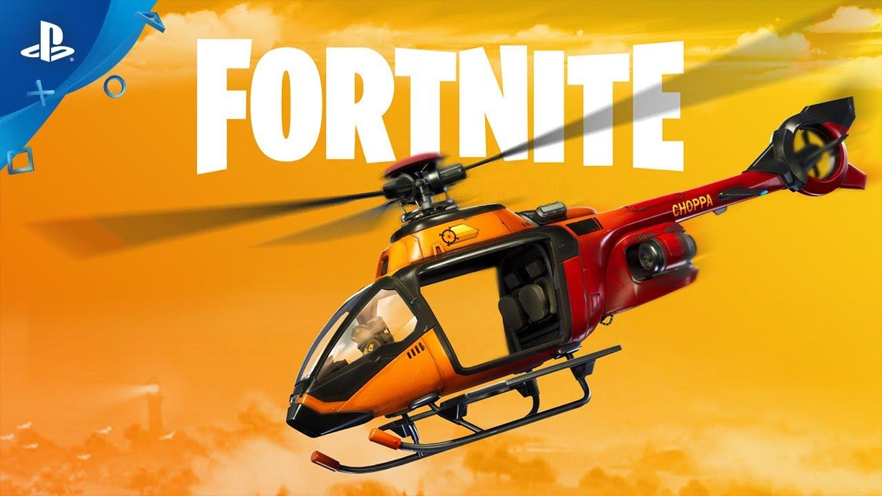 Fortnite - New Vehicle: Choppa | PS4