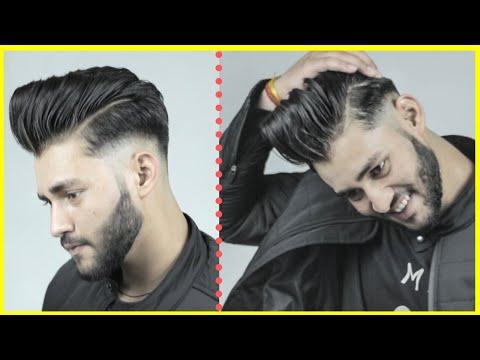 Indian Boys Haircut Hair Cutting Style Hairstyle Beard Style Indian Hair Transformation 2020 Youtube