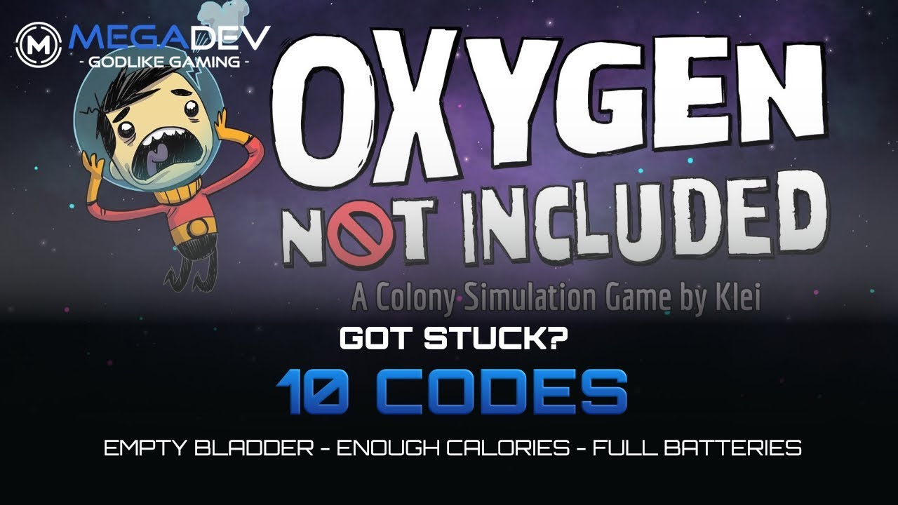 Oxygen Not Included Cheats Offer Infinite Oxygen, Super