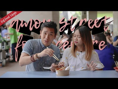 WHAT TO EAT AT AMOY STREET FOOD CENTRE | Eatbook Vlogs | Ep 55