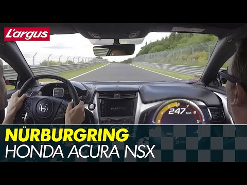 Honda Acura NSX 2017 - First drive at the Nürburgring Nordschleife (on board)