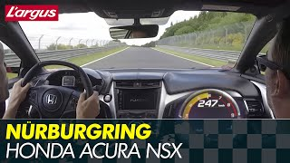 Honda NSX 2017 - First drive at the Nürburgring Nordschleife (on board)