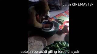 Makanan khas batak (ombus2) iboto hamu do ombus ombus