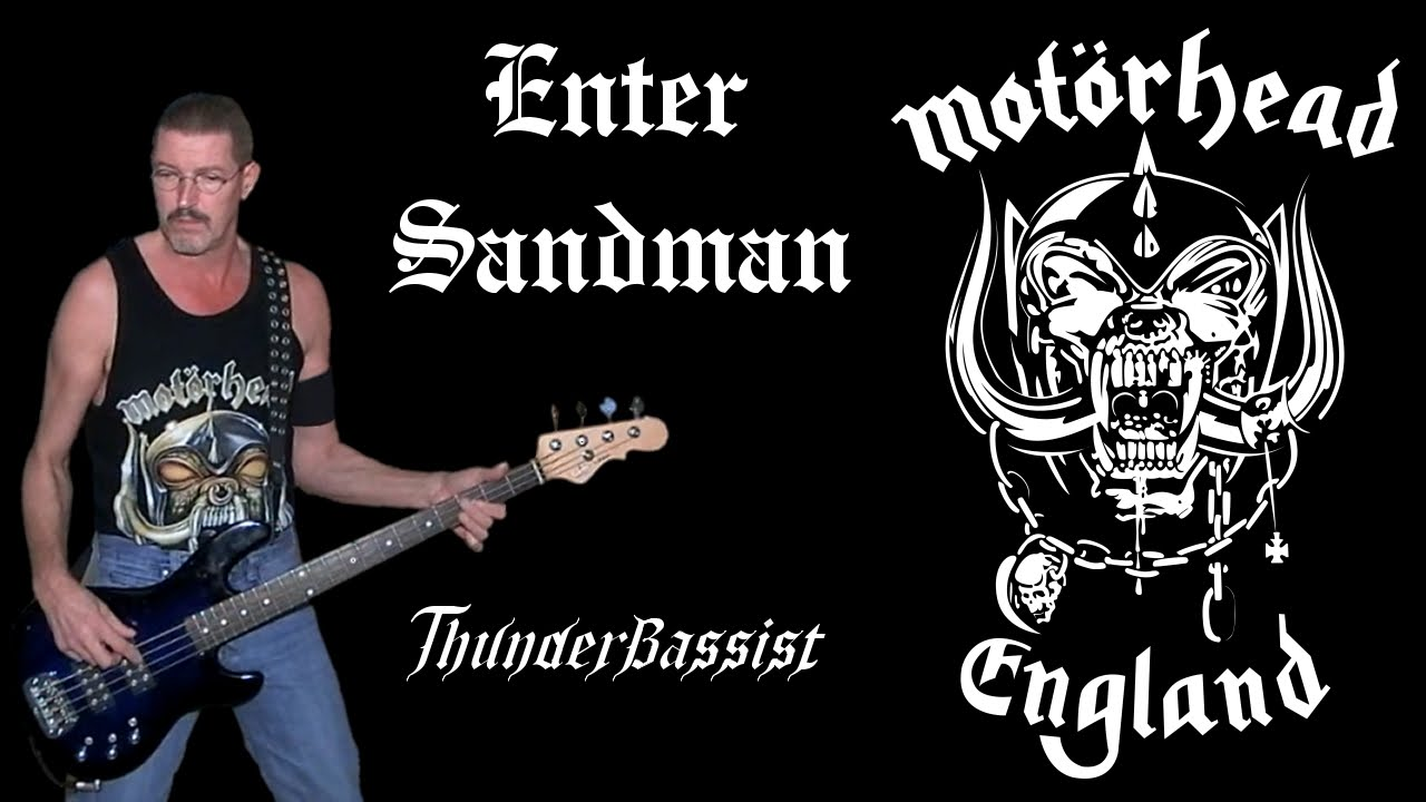 how to play enter sandman on bass