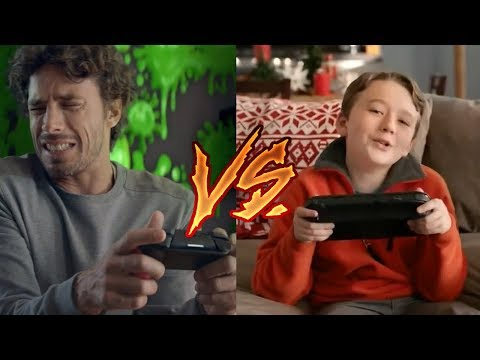 Nintendo Switch Ads vs. Wii U Ads