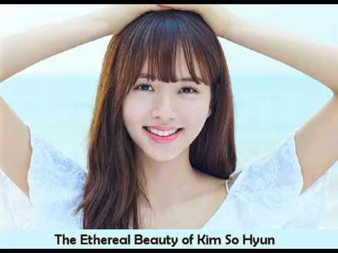 KIM SO HYUN (Korean Actress) - The Ethereal Beauty - Singing First Love