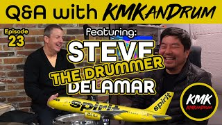 "Steve ""The Drummer"" Delamar Interview on Q&A with KMKanDrum: Episode 23"