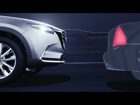 Mazda i-ACTIVSENSE: Mazda Radar Cruise Control (MRCC) - with stop and go