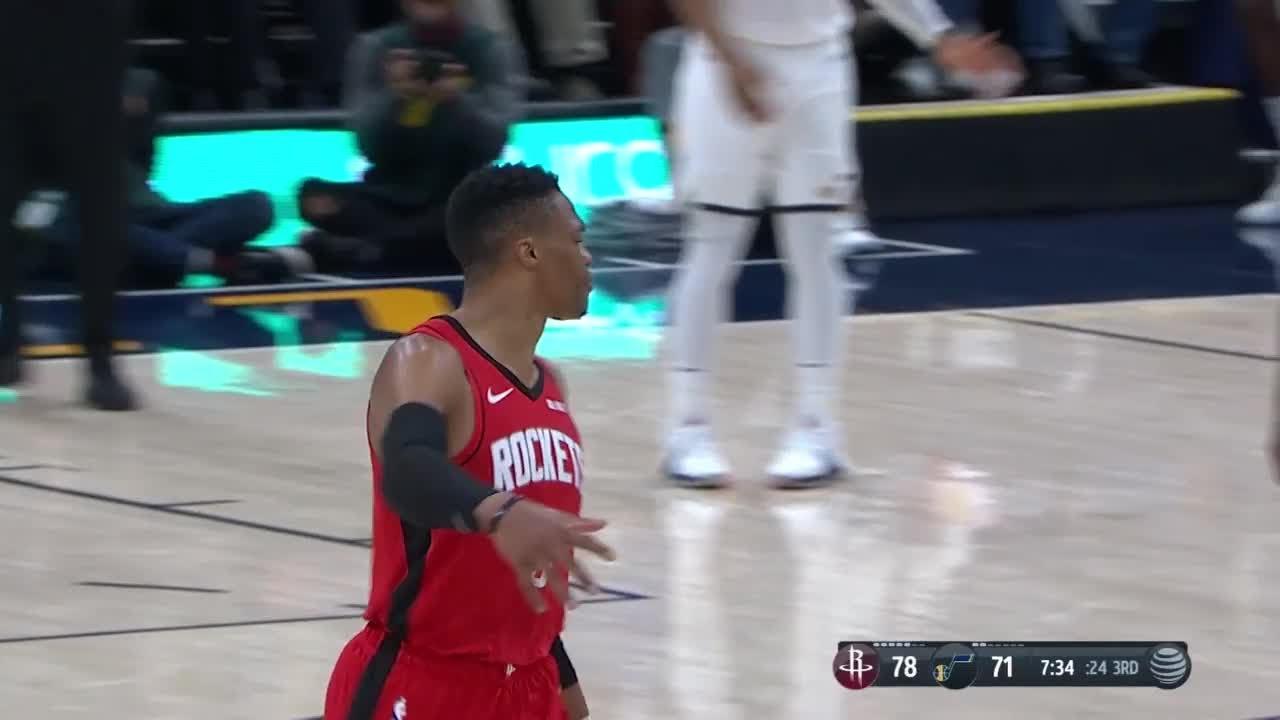 3rd Quarter, One Box Video: Utah Jazz vs. Houston Rockets
