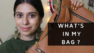 What's in my bag | Handbag Essentials | Aarthi Raman | Indian edition 2018