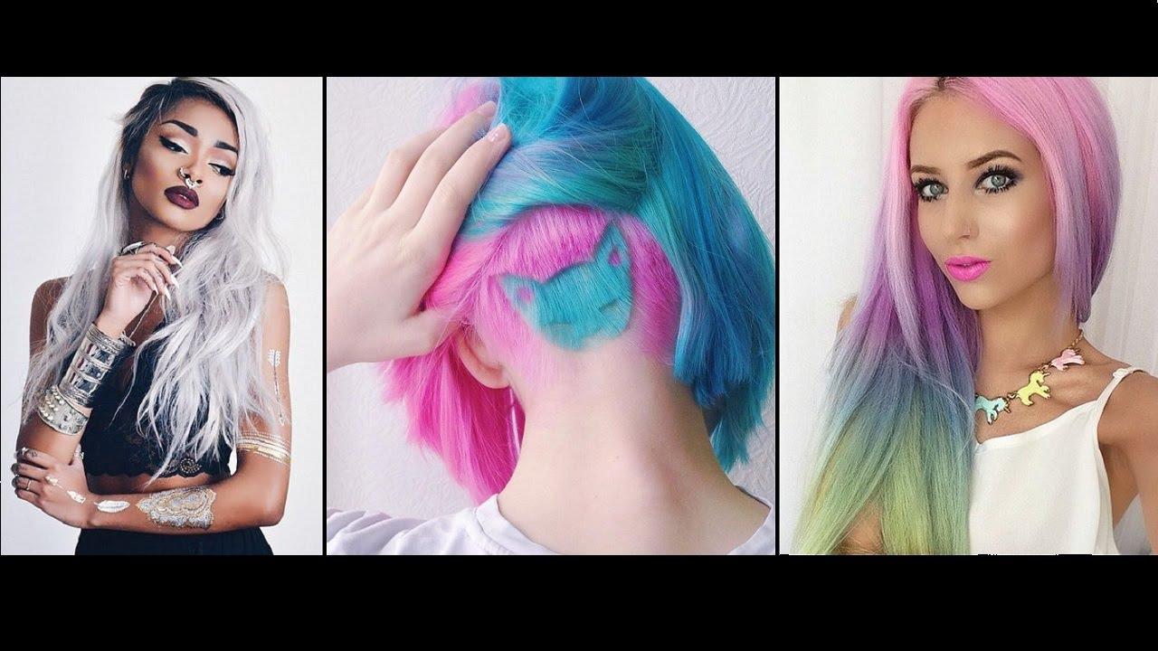 Hair Rainbow color ideas