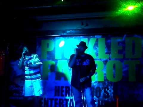 2012-08-02-Tony & me nightshift karaoke