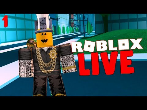ROBLOX LIVE #1 (COME PLAY WITH ME!)