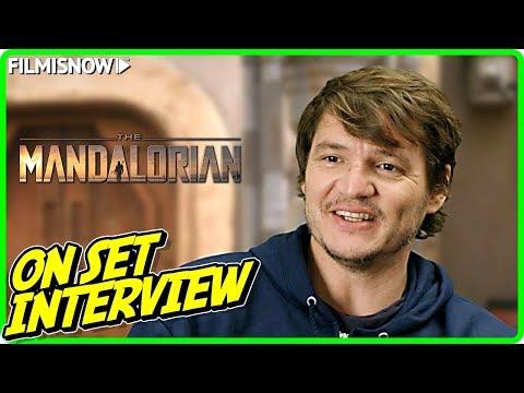 "THE MANDALORIAN | Pedro Pascal ""The Mandalorian"" On-set Interview"