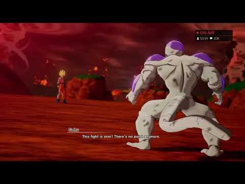 Dragon Ball Z Kakarot - Goku Kills Frieza Cutscene