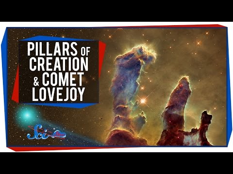 The Pillars Of Creation And Spotting Comet Lovejoy