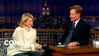 Martha Stewart On Her 'Thanksgiving From Hell' - 'Late Night With Conan O'Brien'