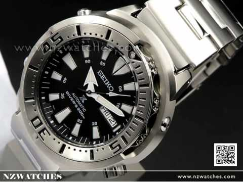 Seiko Prospex Shrouded Monster Baby Tuna 200M Driver Watch SRP637K1 ... ea6c2f2e0