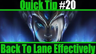 Quick Tip/Trick #20 - Bacĸing To Lane Efficiently