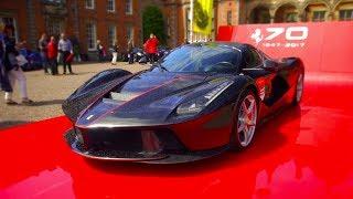 Ferrari 70th Celebration Capesthorne Hall, LaFerrari Aperta, Enzo, F40, 360, F12 TDF MRJWW Speciale
