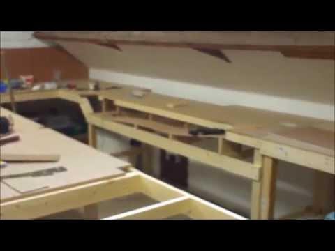 BUILDING A OO GAUGE LAYOUT BASBOARDS No2
