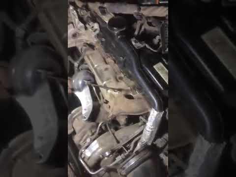 Снятие стартера Mercedes Glk 2,2 дизель