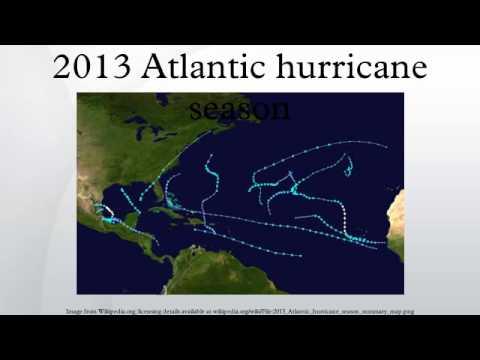 2013 Atlantic hurricane season