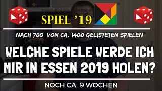 Welche Spiele werde ich mir in Essen 2019 definitiv holen? Stand 08/19