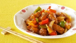 How To Make Sweet And Sour Pork (咕噜肉 Subuta Recipe) 酢豚 (スーパイコ) 作り方 (レシピ)