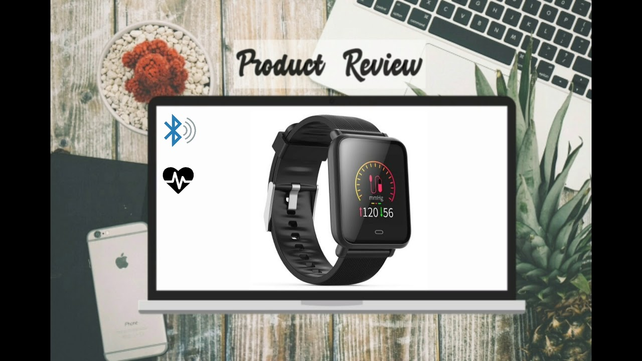 Q9 Waterproof Sports Smart Watch for Android / iOS - BLACK (Product Review)