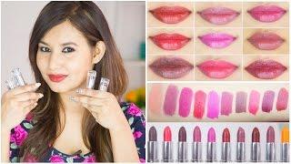 Lakme Enrich Satin Lip Color Review & Swatches | Sonal Sagaraya