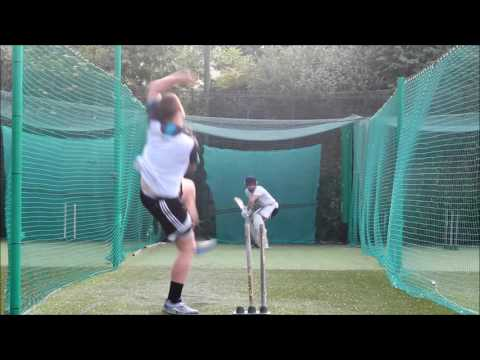 2016 Cricket nets phil batting