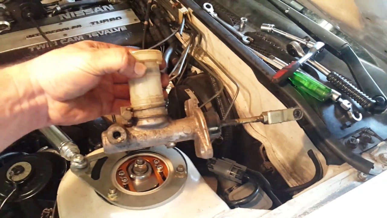 Master Cylinder Replacement >> 240sx Clutch Master Cylinder Replacement