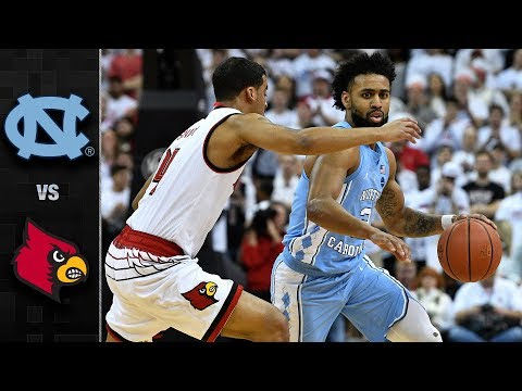 North Carolina vs. Louisville Basketball Highlights (2017-18)