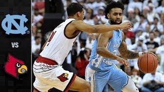 North Carolina vs. Louisville Basketball Highlights (2017-18)