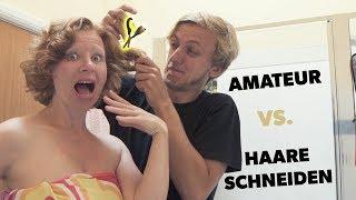 Haarschneide-Experiment: Mein Mann schneidet mir die Haare *Streit* | Scherzingers Videos #184
