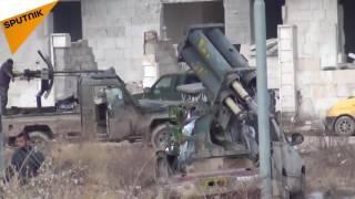 شاهد...كيف أثر سقوط السكن الشبابي على معارك حلب