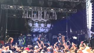 KILLER BE KILLED (**FIRST LIVE SHOW ! **) Wings Of Feather And Wax - SoundWave Melbourne 2015