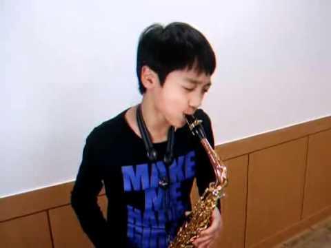 Careless Whisper - 11years old korean .min heo