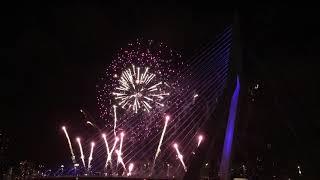 Rotterdam Fireworks 2017-2018. Nationaal Vuurwerk Nederland.