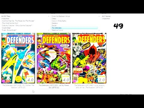 THE PRICE OF COMIC BOOK COLLECTING - PART 1