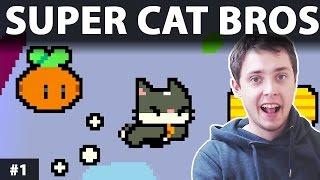 Super Cat Bros Gameplay pl   Super Cat Bros