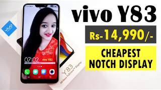 VIVO Y83 - Unboxing & Overview - In Hindi