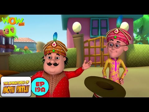 Magician - Motu Patlu in Hindi WITH ENGLISH, SPANISH & FRENCH SUBTITLES thumbnail