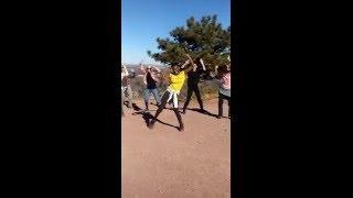 Impromptu Unschooling Sacred Flash Mob in Boulder