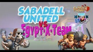 Sabadell United vs. Egipt-×-team . Clash of clans. Random war