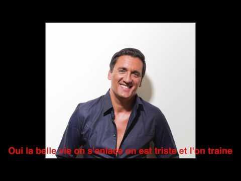 DANY BRILLANT - La Belle Vie (Lyrics video)