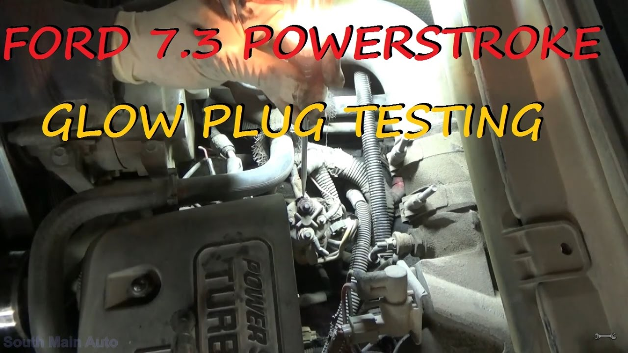 Ford 73 Powerstroke Diesel Hard Start