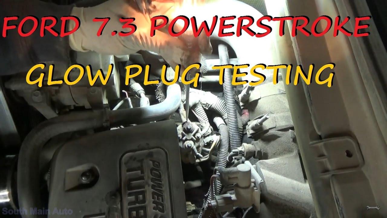Ford 7 3 Powerstroke Diesel Hard Start - Cold
