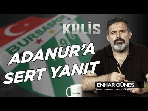 Emin Adanur'a sert yanıt   KULİS   BURSASPOR